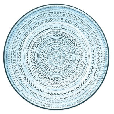 Iittala Kastehelmi Charger Plate in Light Blue