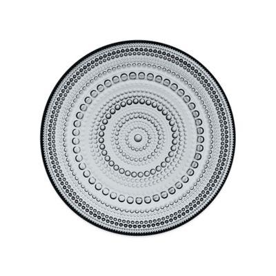 Iittala Kastehelmi Dessert Plate in Grey