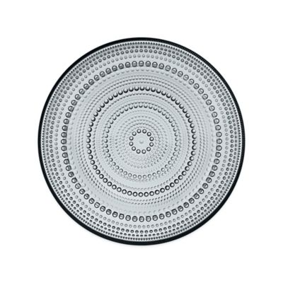 Iittala Kastehelmi Dinner Plate in Grey