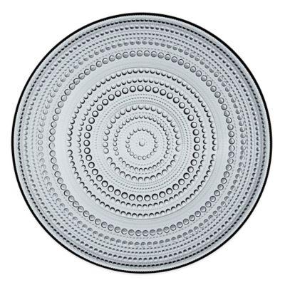 Iittala Kastehelmi Charger Plate in Grey
