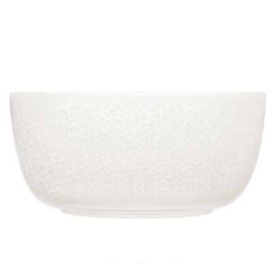 Iittala Sarjaton Cereal Bowl in Letti White