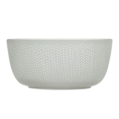 Iittala Sarjaton Cereal Bowl in Letti Pearl Grey