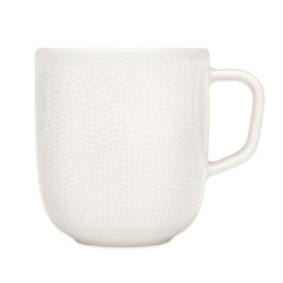 Iittala Sarjaton Mug in Letti White