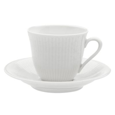 Rörstrand Swedish Grace Coffee Cup in Snow