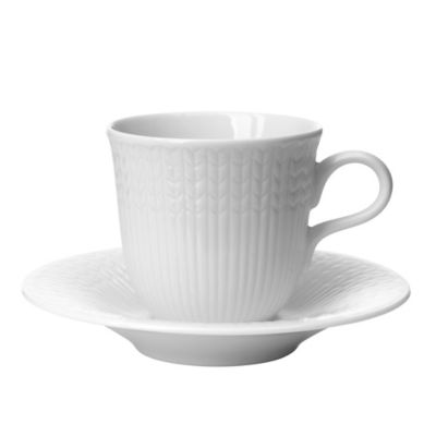 Rörstrand Swedish Grace Espresso Cup in Snow