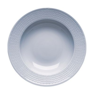 Rörstrand Swedish Grace Rim Soup Bowl in Ice
