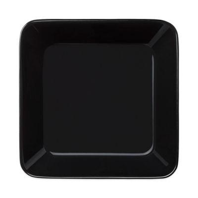 Black Square Plate