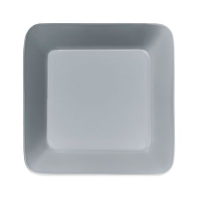 Iittala Teema Square Plate in Pearl Grey