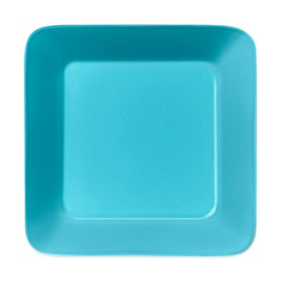 Turquoise Square Plate