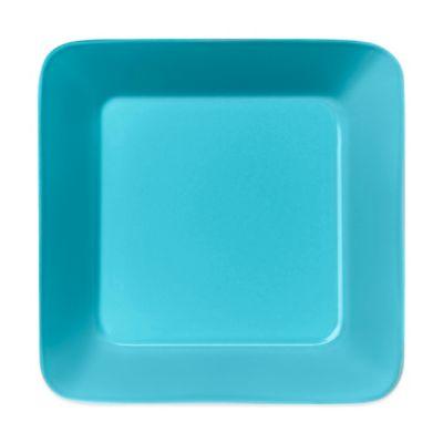 Iittala Teema Square Plate in Turquoise