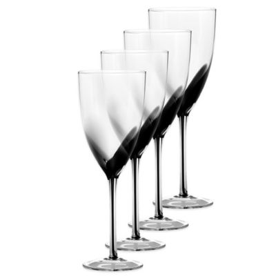 Kya Smoke White Wine Glasses
