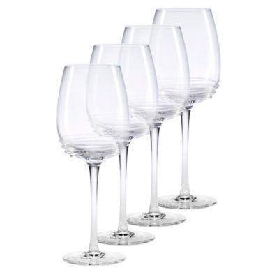 Mikasa® Swirl Goblet Wine Glasses