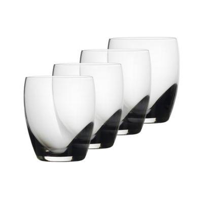 Mikasa® Kya Smoke Double Old-Fashioned Glasses (Set of 4)