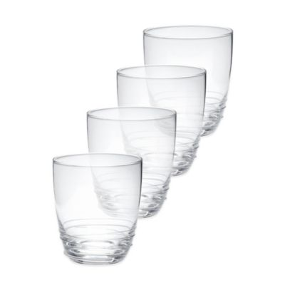 Mikasa® Swirl Double Old Fashioned Cocktail Glasses