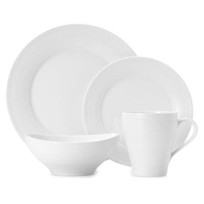 Mikasa® Ryder 4-Piece Dinnerware Set in White