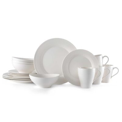 Mikasa® Ryder 16-Piece Dinnerware Set in White