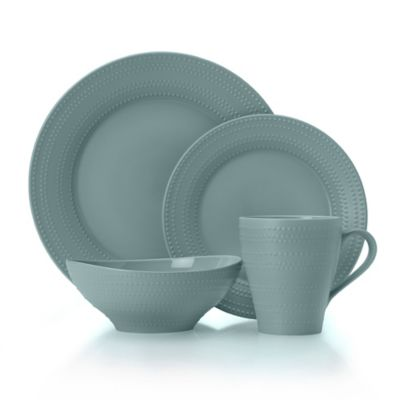 Mikasa® Ryder 4-Piece Dinnerware Set in Blue