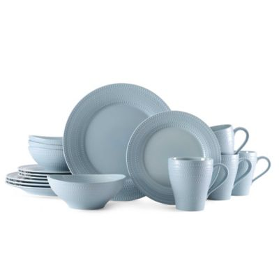 Mikasa® Ryder 16-Piece Dinnerware Set in Blue