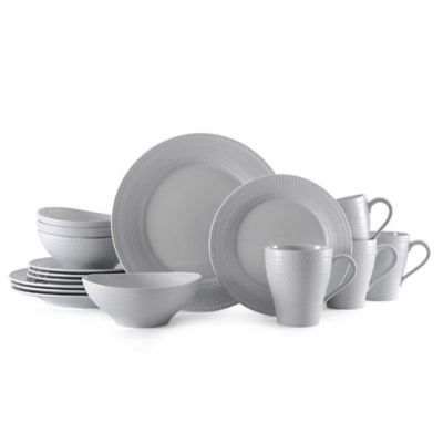 Mikasa® Ryder 16-Piece Dinnerware Set in Grey