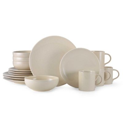 Mikasa® Benson 16-Piece Dinnerware Set in Beige