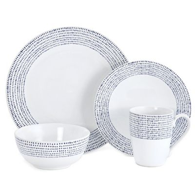 Mikasa® Daylen 4-Piece Place Setting in Cobalt
