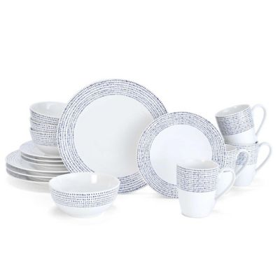 Mikasa® Daylen 16-Piece Dinnerware Set in Cobalt