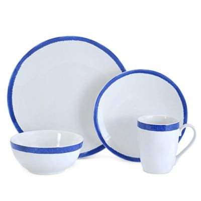 Mikasa® Reese 4-Piece Dinnerware Set in Cobalt