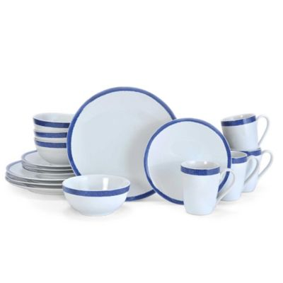 Mikasa® Reese 16-Piece Dinnerware Set in Cobalt