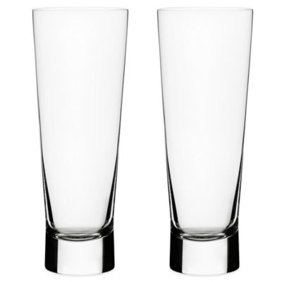 Iittala Aarne Pilsner Glasses (Set of 2)