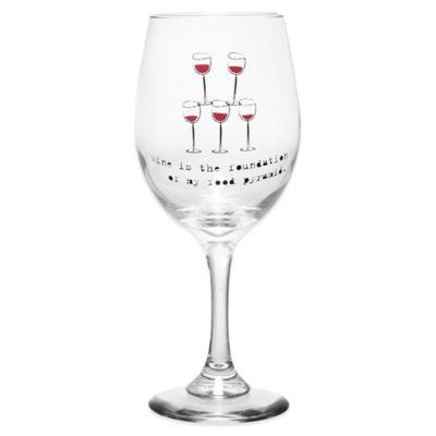 Wine Food Pyramid Wine Glass