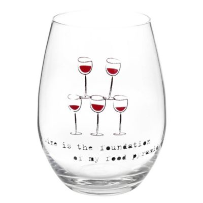 Wine Enthusiast Stemless Wine Glasses
