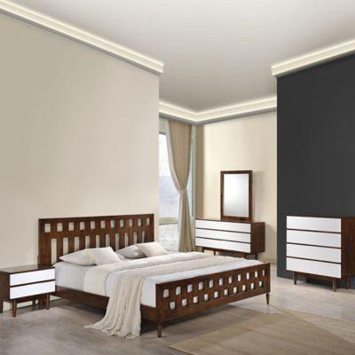 Zuo® Los Angeles Queen Bedroom Set