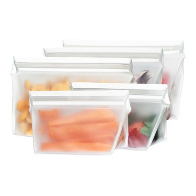 BlueAvocado® (re)zip™ Reusable Food Storage Bags (Set of 5)