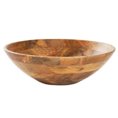 Malaya Wooden Serving Bowl