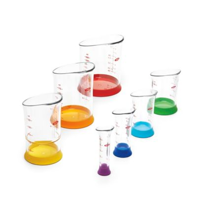 OXO Good Grips® Plastic 7-Piece Measuring Beaker Set
