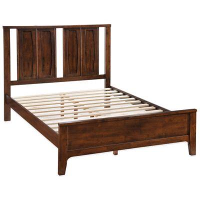Zuo® Portland King Bedroom Set in Walnut