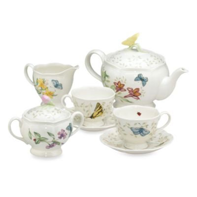 Lenox® Butterfly Meadow® 9-Piece Tea Set