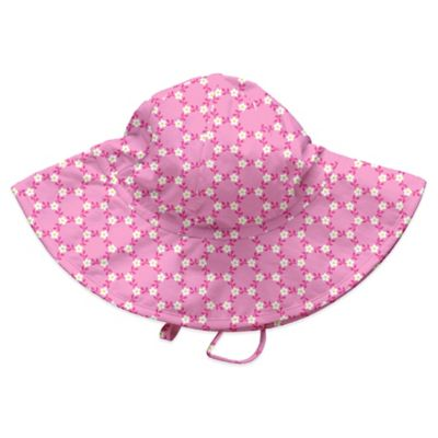 i play.® Size 6-18M Daisy Chain Brim Sun Hat in Light Pink