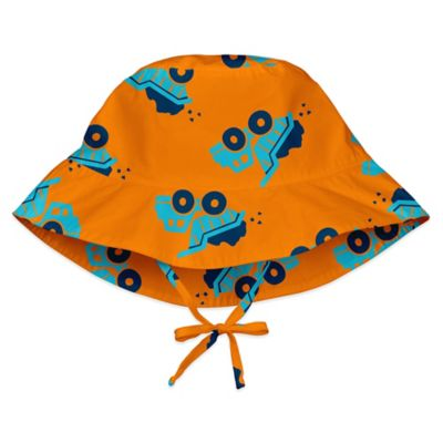 i play.® Size 6-18M Dump Truck Bucket Sun Hat in Orange