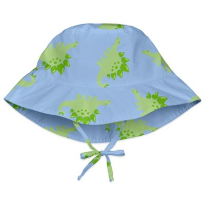 i play.® Size 2-4T Stegosaurus Bucket Sun Hat in Light Blue