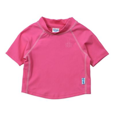 i play.® Size 18M Short Sleeve Rashguard in Hot Pink