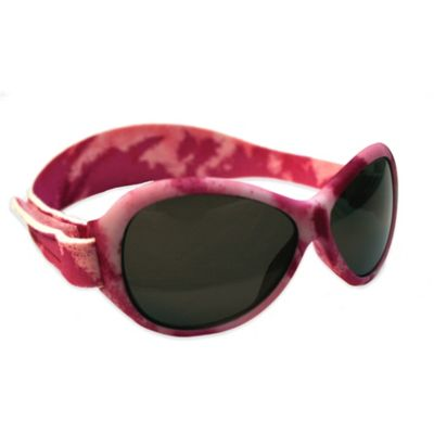 Baby Banz Retro Banz Toddler Sunglasses in Pink Camouflage