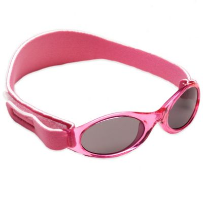 Baby Banz Adventure Banz Infant Sunglasses in Flamingo Pink