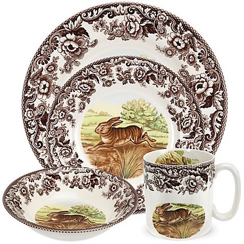 Spode 174 Woodland Rabbit Dinnerware Collection Www