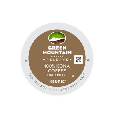 Keurig® K-Cup® Pack 16-Count Green Mountain Coffee® 100% Kona Coffee