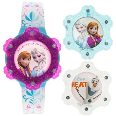 Disney® Frozen Flip-Top Watch with Interchangeable LCD Tops
