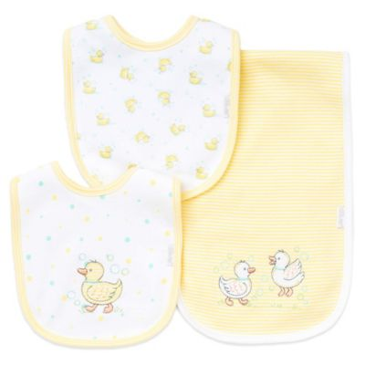 Yellow Baby Burp Cloths