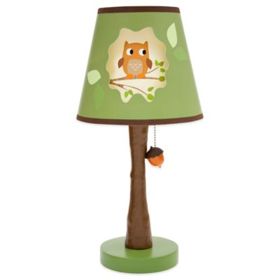 Lambs & Ivy® Woodland Tales Lamp Base and Shade