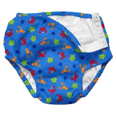 i play.® Size 12-18M Sea Critters Ultimate Swim Diaper in Periwinkle Blue