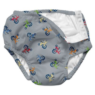 i play.® Size 12-18M Tricycle Ultimate Swim Diaper in Grey